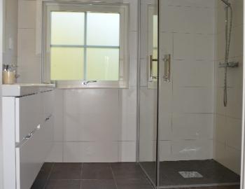 Vi renoverar badrum hos Carl i Hölllviken