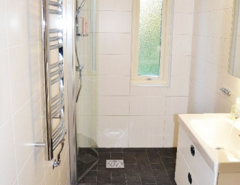 Vi renoverar badrum hos Margareta i Dalby